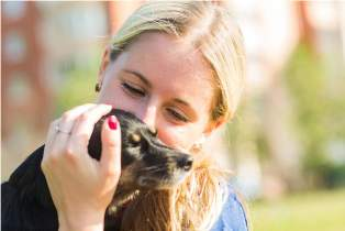 pets-and-happy-owner-woman